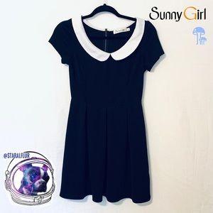 ModCloth Sunny Girl Retro Peter Pan Collar Dress